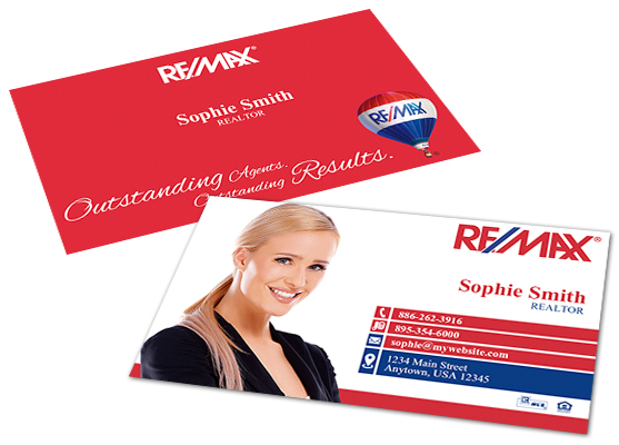 re max real estate business cards image collections card