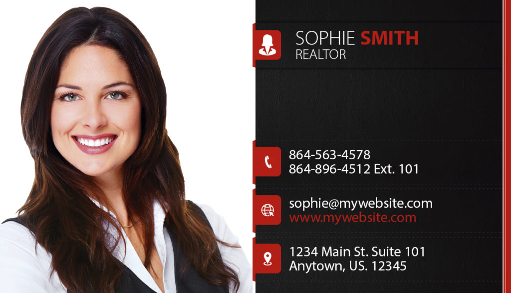 Real estate business cards template realtor business cards template real estate business cards modern real estate business cards business cards for realtors accmission Images