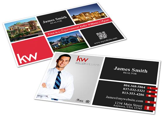 Keller Williams Door Hangers keller williams business cards | keller williams business card