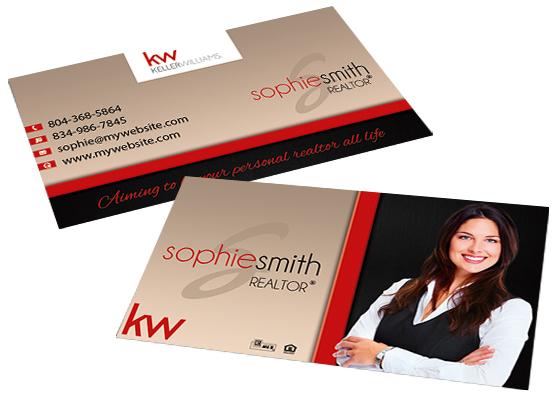 Keller Williams Business Cards Card Templates Designs