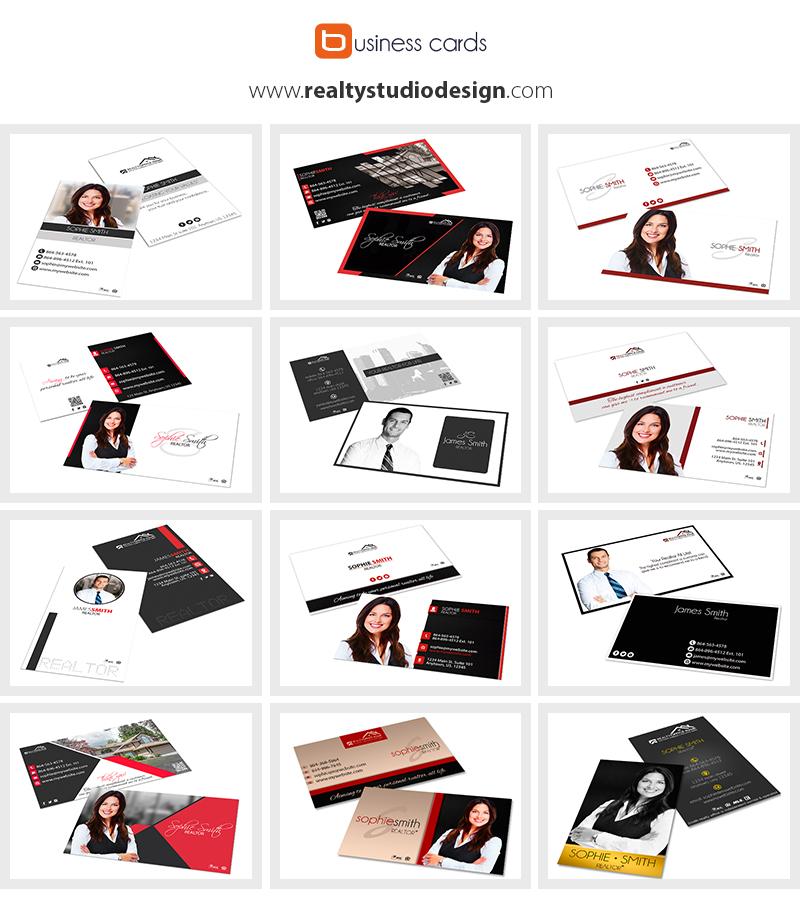 Modern Real Estate Business Cards | Elegant Real Estate Business Card