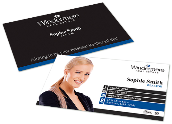 Windermere Real Estate Business Cards Windermere Business Card
