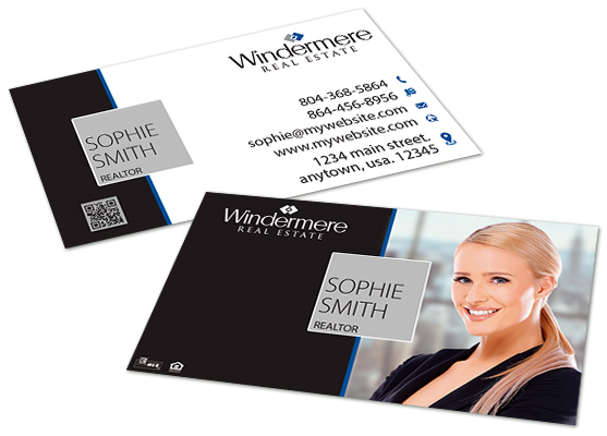 Windermere Real Estate Business Cards
