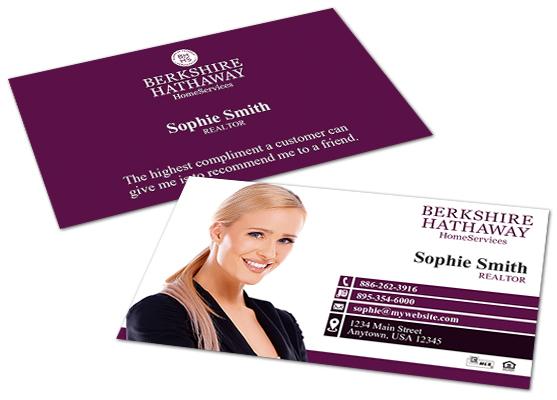 Berkshire Hathaway Business Cards Berkshire Business Card Templates
