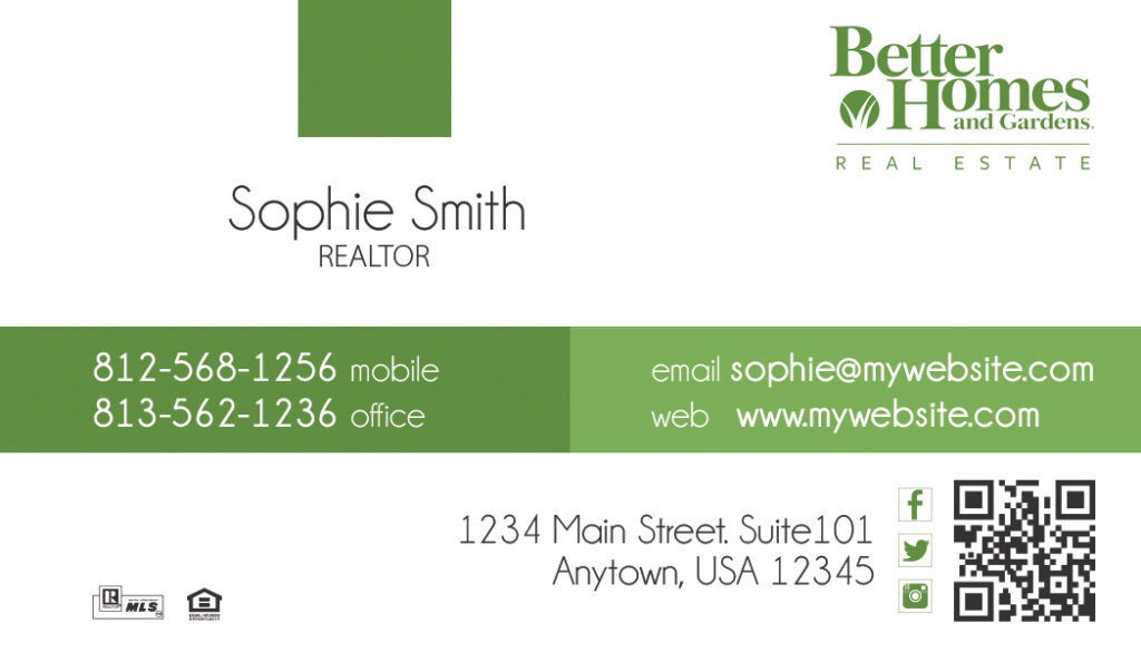 Better Homes And Gardens Business Cards 17 Templates