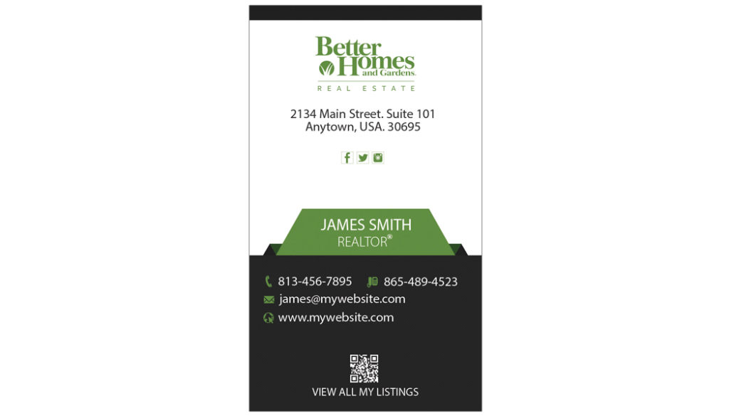 Better Homes And Gardens Business Cards 15 Templates