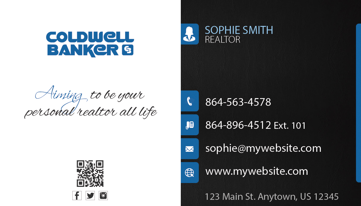 Coldwell Banker Business Cards 23   Coldwell Banker Business Cards