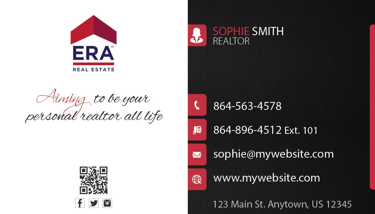ERA Business Cards 23 | ERA Real Estate Business Cards 23