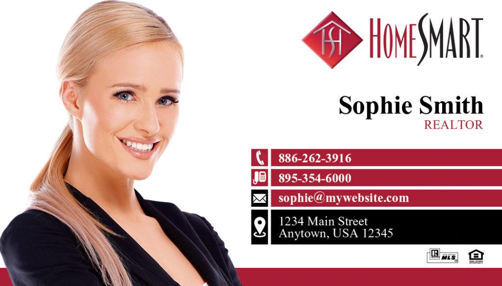 HomeSmart Business Card | HomeSmart Business Card Ideas Printing