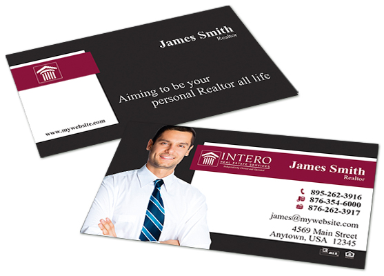 Intero real estate business cards intero real estate business card intero real estate business cards intero real estate business card templates intero real estate accmission Image collections