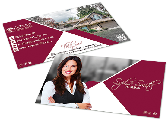 Intero Real Estate Business Cards | Intero Real Estate Business Card Templates, Intero Real Estate Business Card designs, Intero Business Card Printing, Intero Real Estate Business Card Ideas