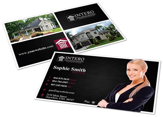 Intero real estate business cards intero real estate business card intero real estate business cards intero real estate business card templates intero real estate reheart Gallery