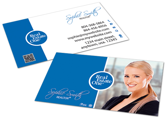 Real Estate One Business Cards Real Estate One Business Card Ideas