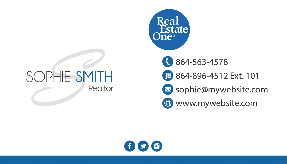 Real Estate One Business Cards 21 | Real Estate One Business Cards