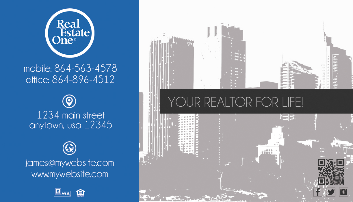 real estate one business cards 22  real estate one business cards