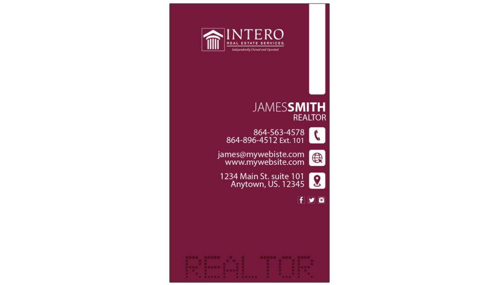 Intero Real Estate Business Cards, Unique Intero Real Estate Business Cards, Best Intero Real Estate Business Cards, Intero Real Estate Business Card Ideas, Intero Real Estate Business Card Template