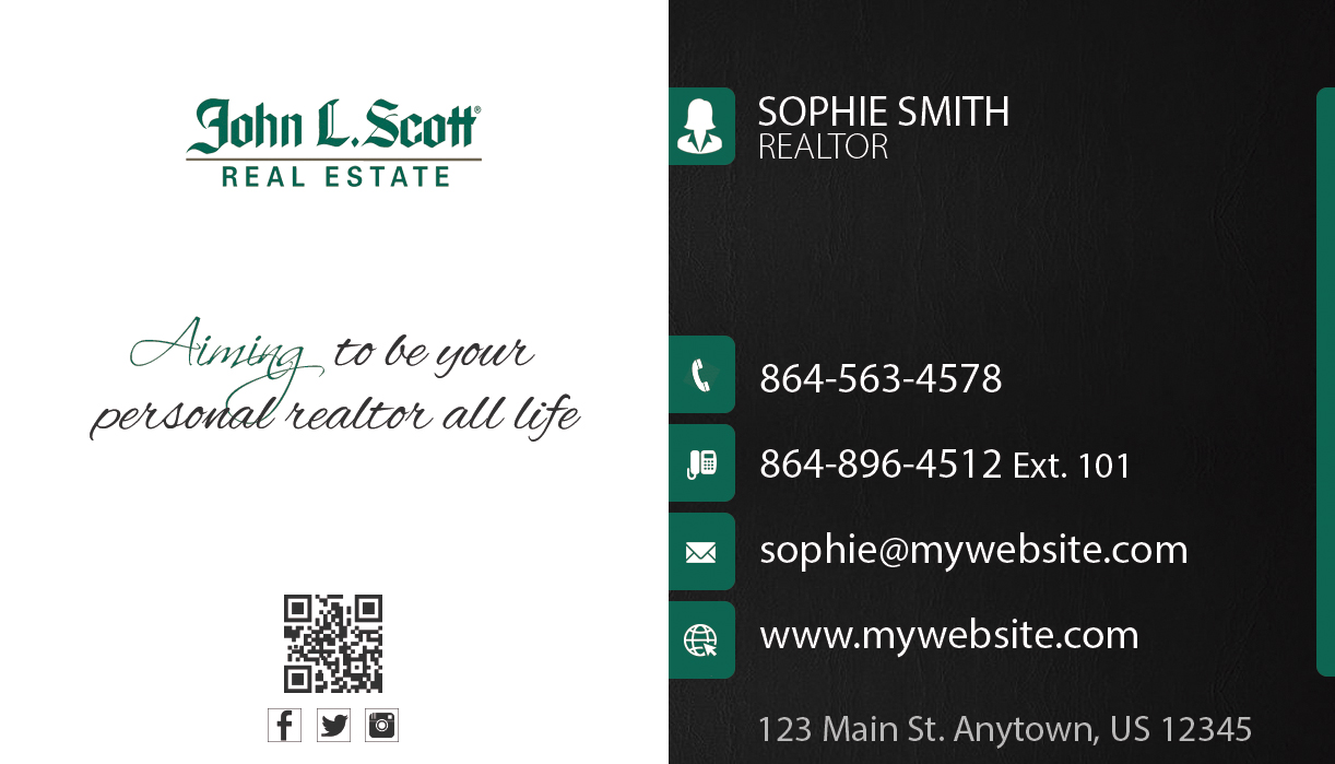 John L Scott Business Cards 23 | John L Scott Business Cards 23
