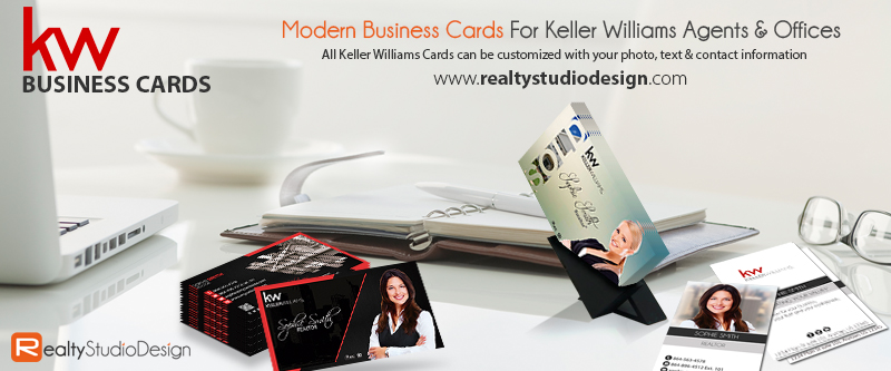 Keller Williams Business Card, Unique Keller Williams Business Card, Business Cards For Keller Williams Agents, Keller Williams Business Card Design Templates, Keller Williams Cards