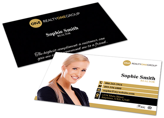 Realty One Group Business Cards Realty One Group Business Card