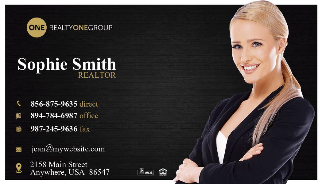 Realty One Group Business Cards 05 Realty One Group Card Template
