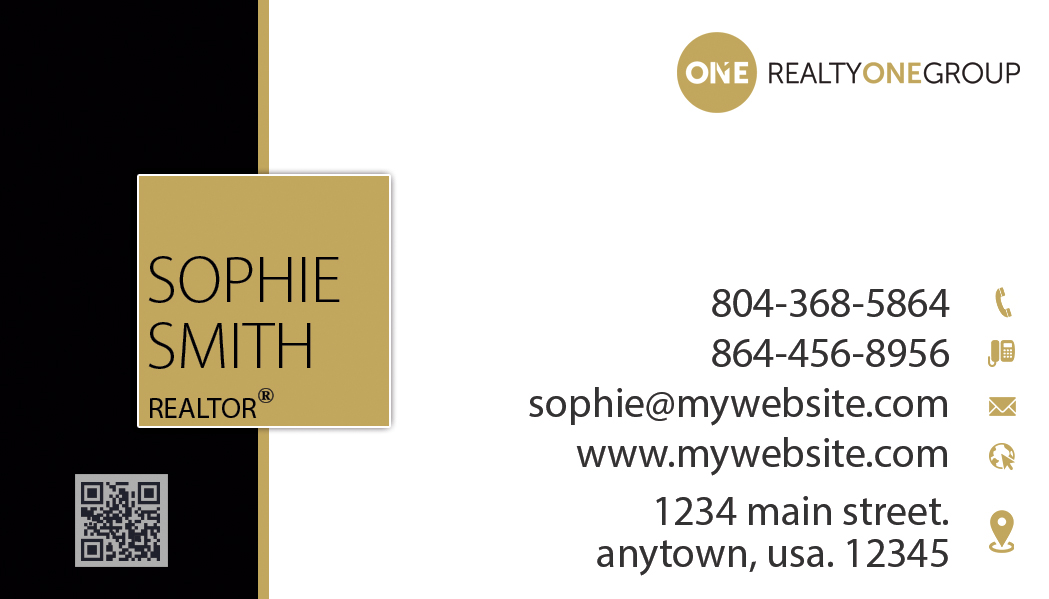 Realty One Group Business Cards Unique Realty One Group