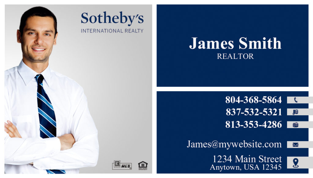 Sothebys Realty Business Cards 03 | Sothebys Realty Card Template