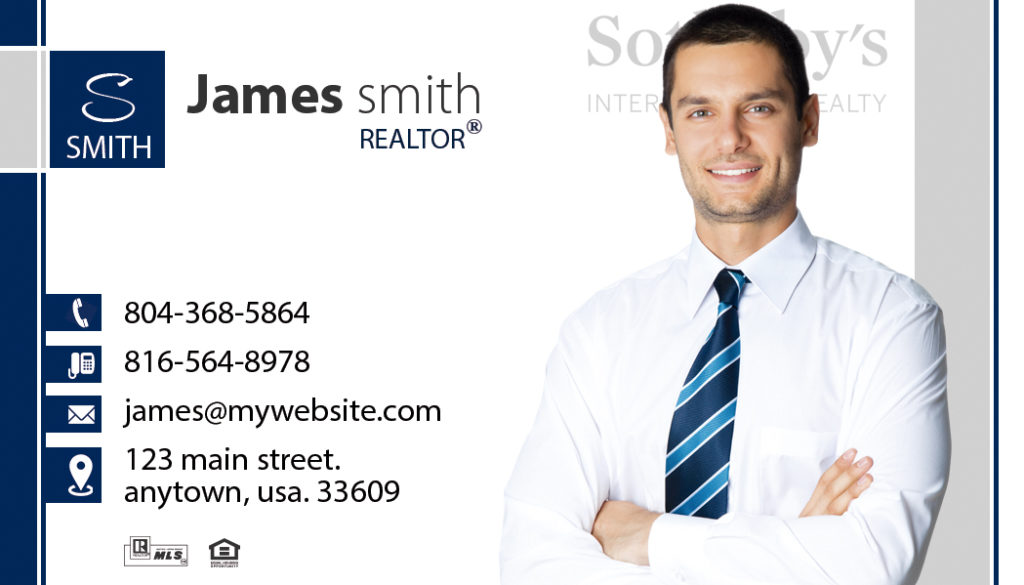 Sothebys Realty Business Cards 16 | Sothebys Realty Card Template