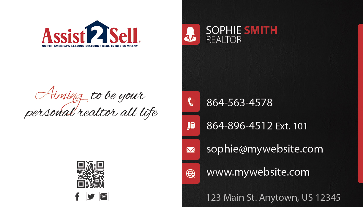 Assist To Sell >> Assist 2 Sell Business Cards Unique Assist 2 Sell Business