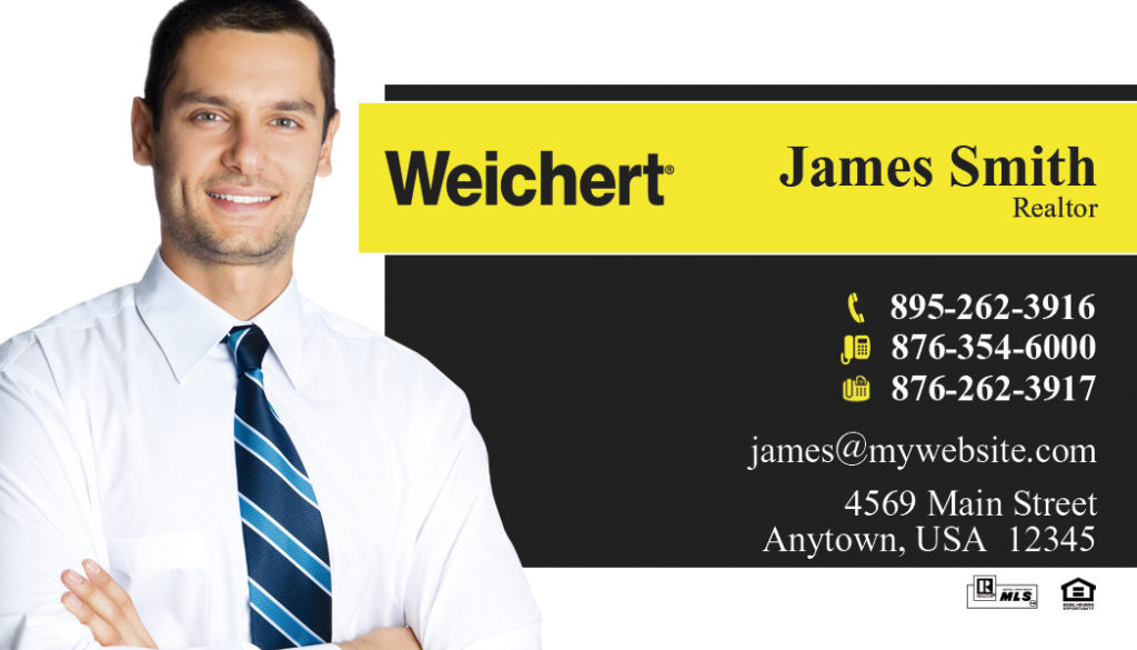 Weichert Realtors Business Cards 02 | Weichert Business Card Template