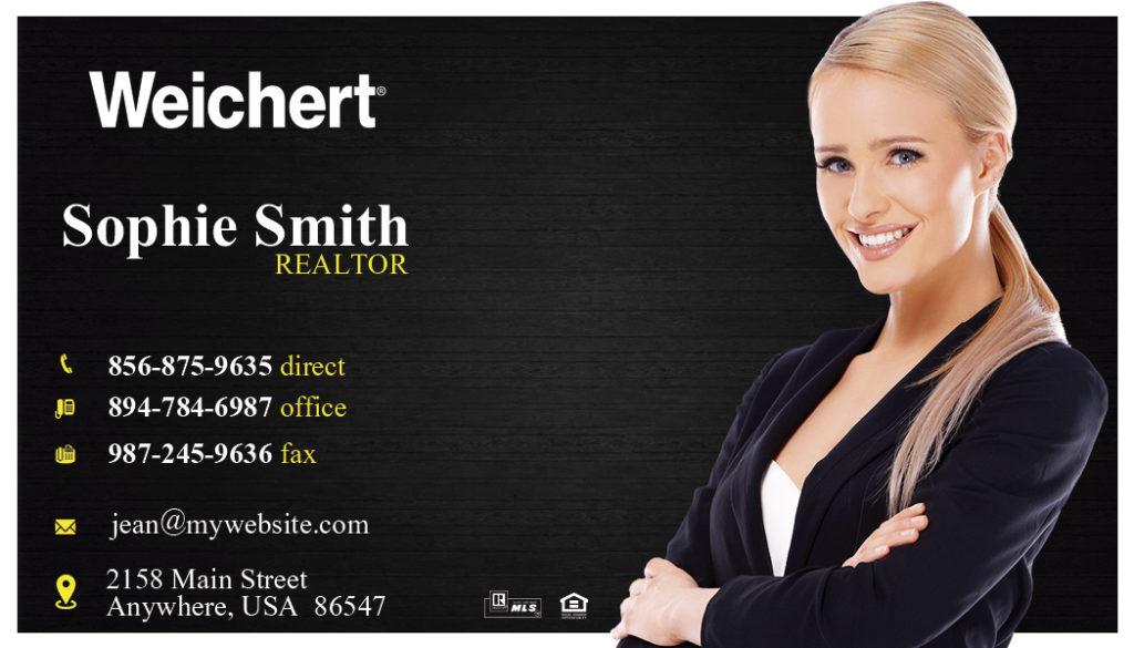 Weichert Realtors Business Cards 05 | Weichert Business Card Template