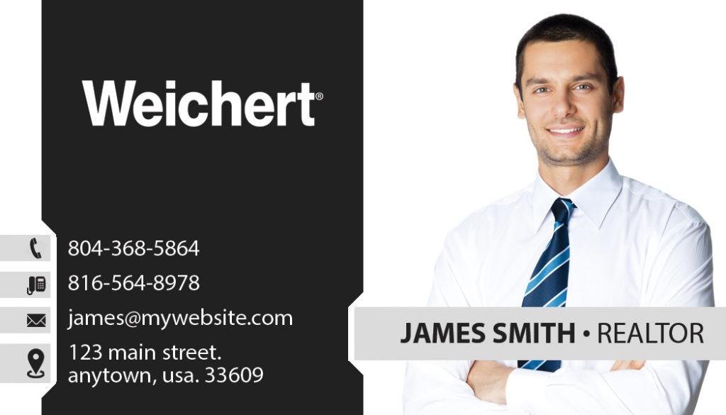 Wonderful Weichert Realtors Business Cards Ideas - Business Card ...