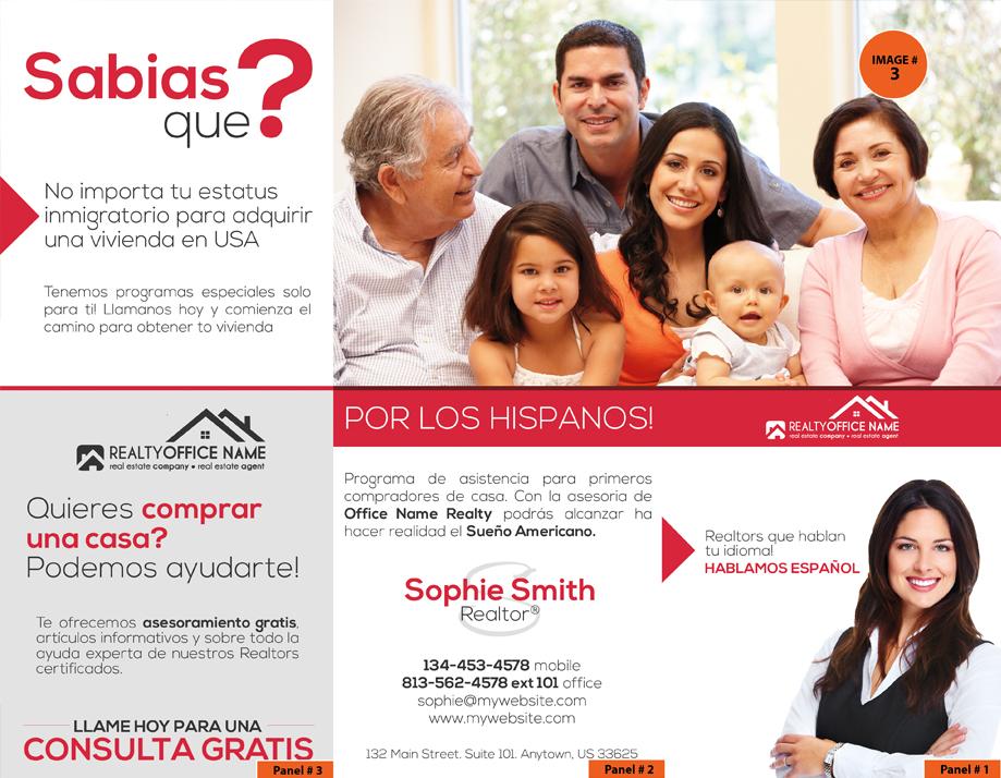 Real Estate Spanish Brochures, Real Estate Brochures In Spanish, Real Estate Brochures Spanish, Brochures Spanish, Realtor Spanish Brochures