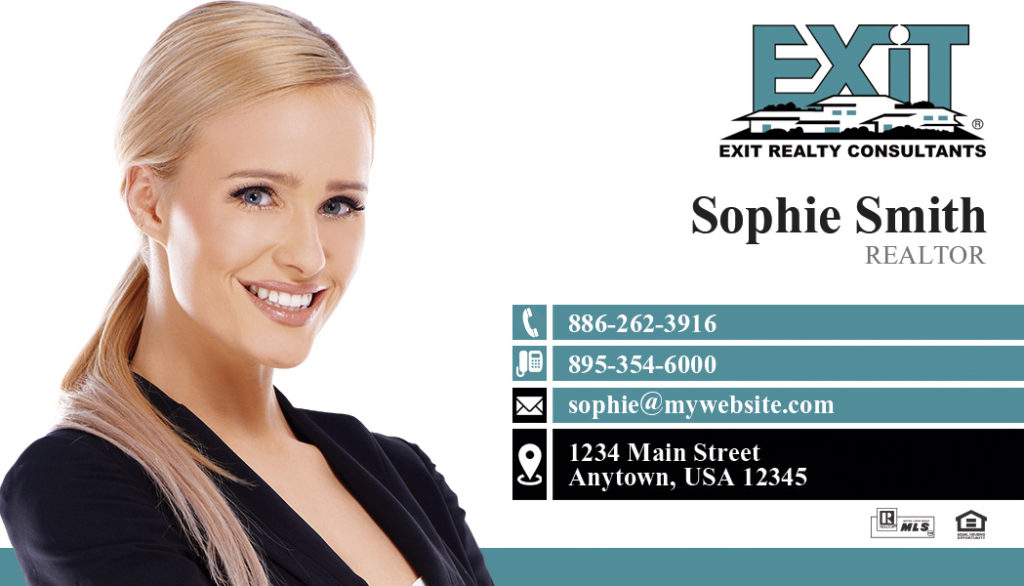 Exit Realty Business Card 01 | Exit Realty Business Card Template 01
