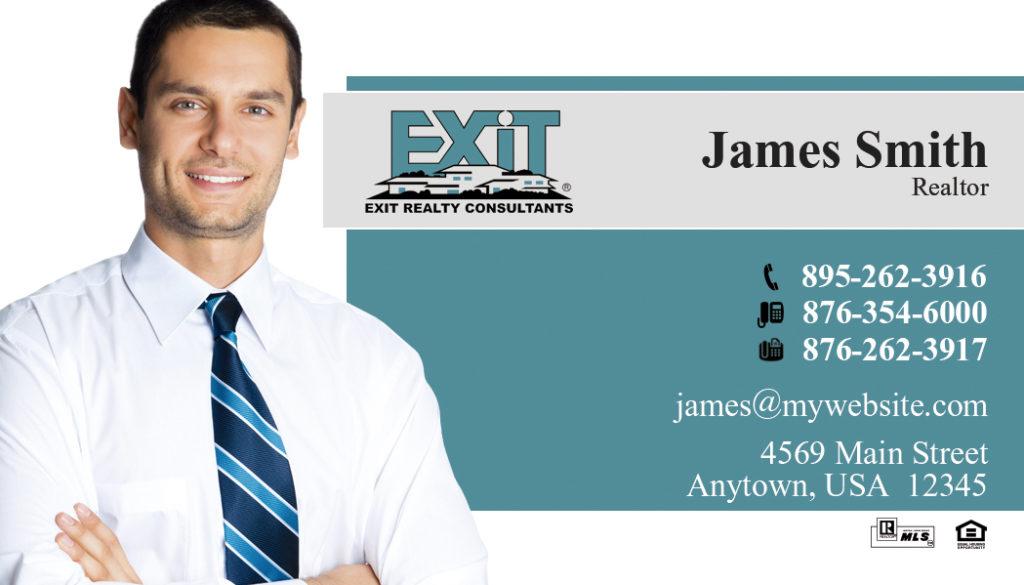 Exit Realty Business Card 02   Exit Realty Business Card Template 02