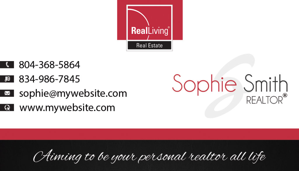 Real Living Business Cards, Unique Real Living Business Cards, Best Real Living Business Cards, Real Living Business Card Ideas