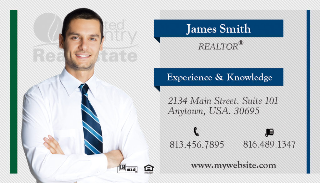 United Country Business Card 13   United Country Business Card