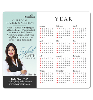 Real Estate Magnets | Custom Real Estate Magnets, Real Estate Custom Calendars, Real Estate Fridge Magnets, Custom Printed Real Estate Calendar Magnets