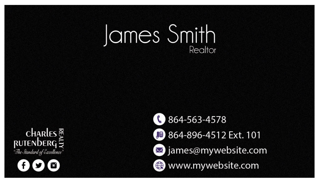 Charles Rutenberg Business Card 28 | Charles Rutenberg Business Card