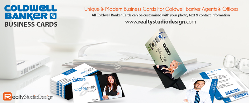 Coldwell Banker Business Card | Unique Coldwell Banker Business Card, Business Cards For Coldwell Banker Agents, Coldwell Banker Card Templates
