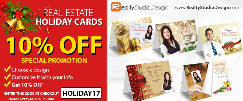 Holiday Cards, Real Estate Holiday Cards