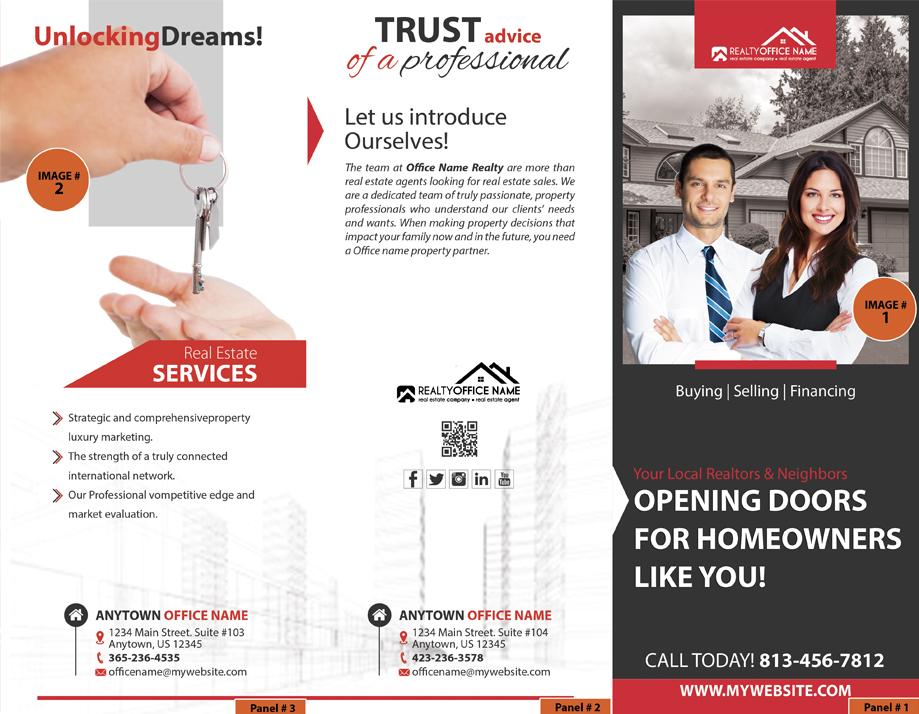 Real Estate Brochure, Real Estate Marketing Brochure, Realtor Brochure, Real Estate Brochure Design Ideas, Real Estate Brochure Content, Luxury Real Estate Brochures, Real Estate Team Brochure, Office Brochure