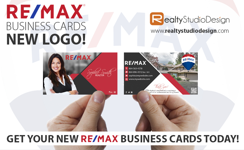 Remax business cards new logo remax new logo for New business cards