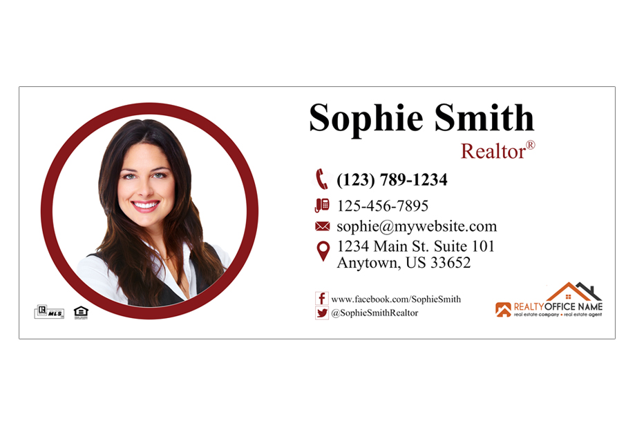 Real Estate Email Signature 01 Real Estate Email Signature Template 01