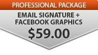 ○ Add Email Signature & Facebook Graphs