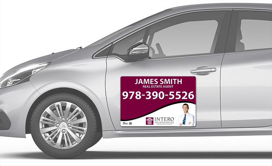 Intero Real Estate Car Magnets | Intero Real Estate Car Magnet Templates, Intero Real Estate Car Magnet Printing, Intero Real Estate Car Magnet Ideas