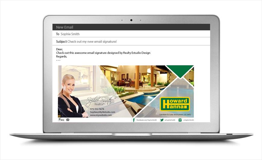 Howard Hanna Email Signatures | Howard Hanna Email Signature Templates, Howard Hanna Email Signature Designs, Howard Hanna Email Signature Ideas