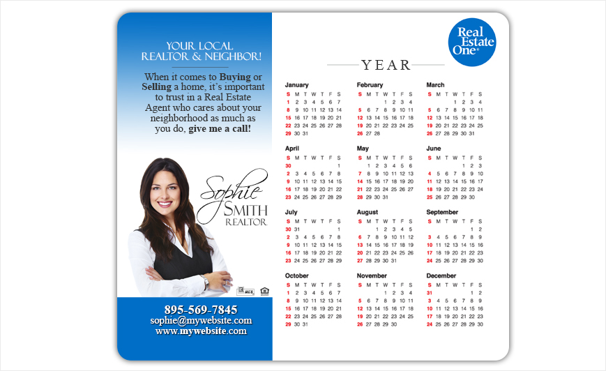 Real Estate One Calendar Magnets | Real Estate One Calendar Magnet Templates, Real Estate One Calendar Magnet Printing, Real Estate One Calendar Magnet Ideas