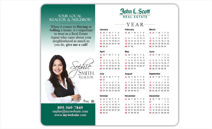 John L Scott Calendar Magnets | John L Scott Calendar Magnet Templates, John L Scott Calendar Magnet Printing, John L Scott Calendar Magnet Ideas