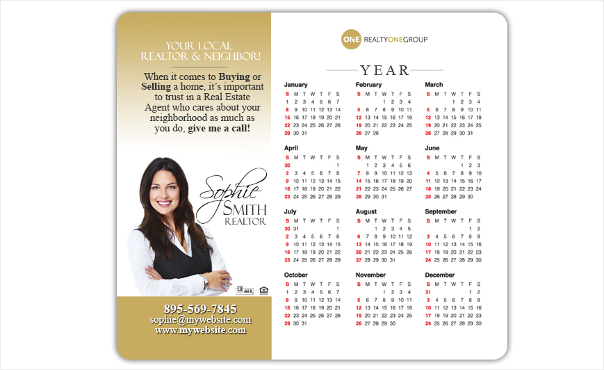 Realty One Group Calendar Magnets | Realty One Group Calendar Magnet Templates, Realty One Group Calendar Magnet Printing, Realty One Group Calendar Magnet Ideas