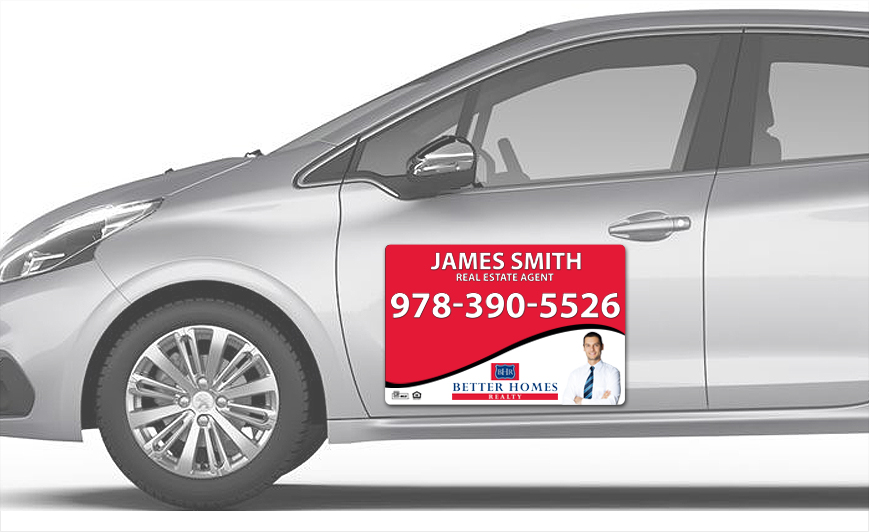 Better Homes Realty Car Magnets | Better Homes Realty Car Magnet Templates, Better Homes Realty Car Magnet Printing, Better Homes Realty Car Magnet Ideas